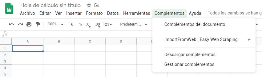Instalar ImportFromWeb
